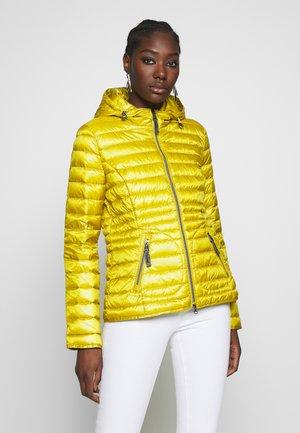 Down jacket - vibrant yellow
