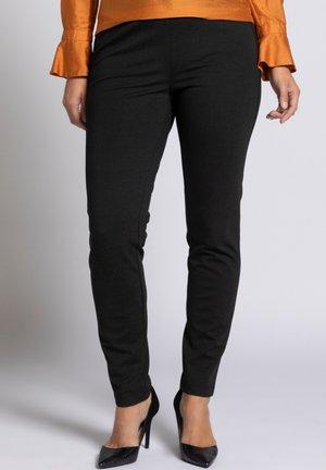 Trousers - dunkelgrau-melange