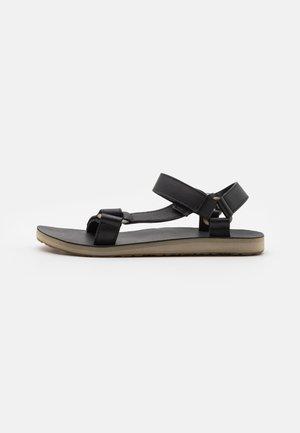 ORIGINAL UNIVERSAL - Chodecké sandály - black