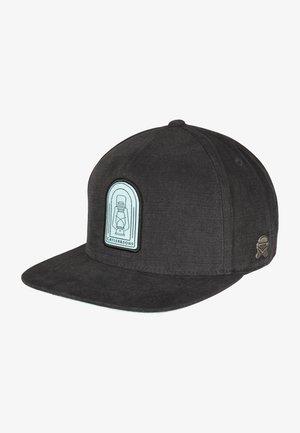 Cap - washed black/mc