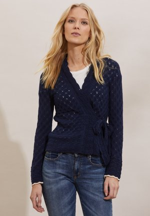 MERYL - Cardigan - dark blue