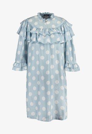 KANZA - Vestido informal - light blue/white