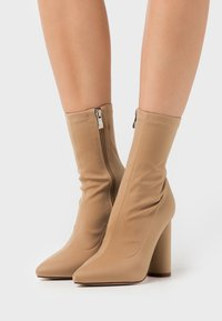 BEBO - ARANZA - High heeled ankle boots - nude - 0