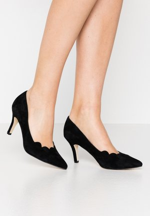 LEATHER - Klassiske pumps - black