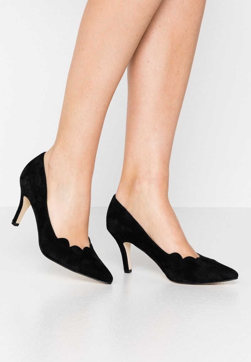 Anna Field - LEATHER - Classic heels - black