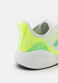 adidas Performance - FLUIDFLOW 2.0 - Zapatillas de entrenamiento - footwear white/hazy sky/hi-res yellow - 5