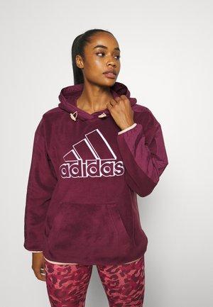 Sweatshirt - victory crimson/halo blush