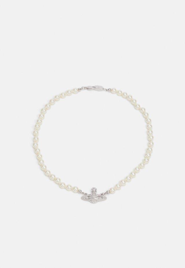 MINI BAS RELIEF CHOKER - Collana - silver-coloured