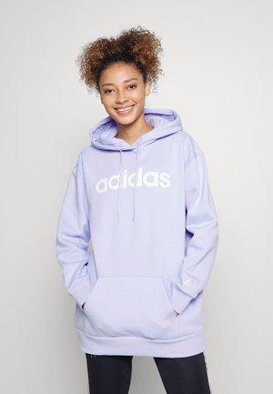 Hoodie - violet tone/white