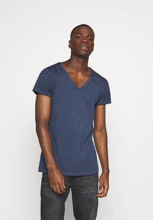 MAIK - Basic T-shirt - vintage midnight blue