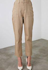 Trendyol - Trousers - brown - 4