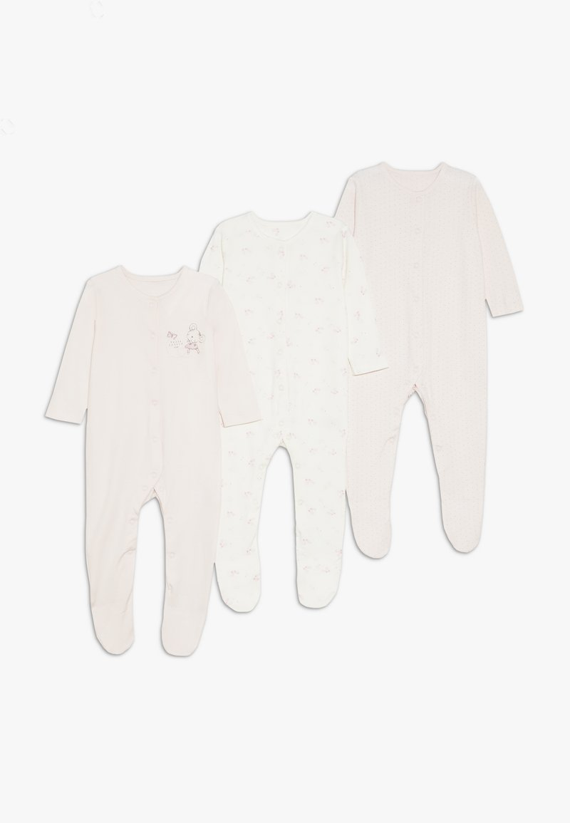 mothercare - BABY SLEEPS 3 PACK - Pyjamaser - pink