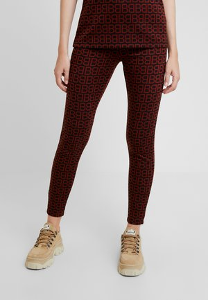 BYROSSA - Leggings - Trousers - black