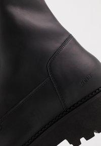 Nubikk - LOGAN HARBOR - Lace-up ankle boots - black - 5