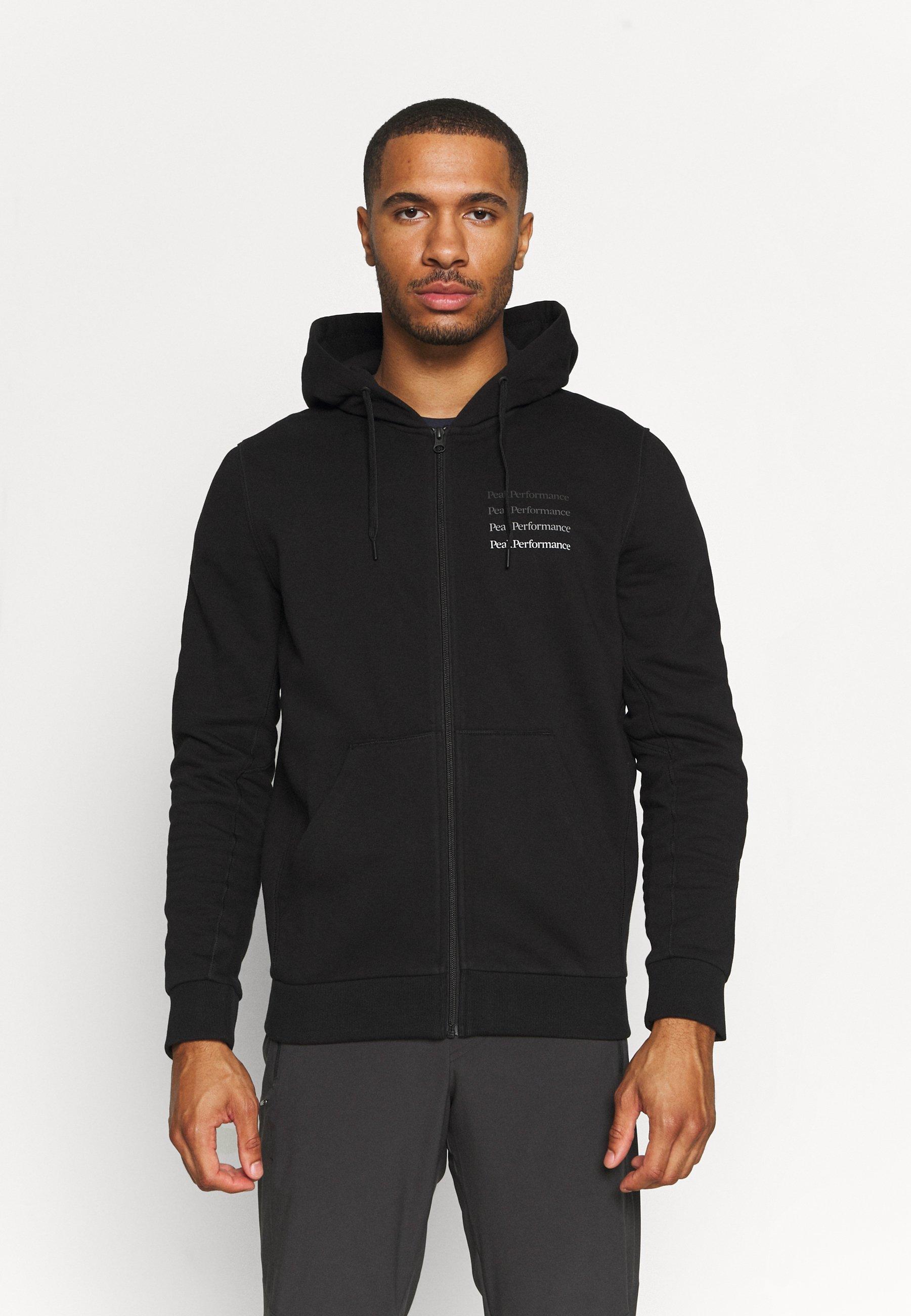 Men GROUND ZIP HOOD - Zip-up sweatshirt