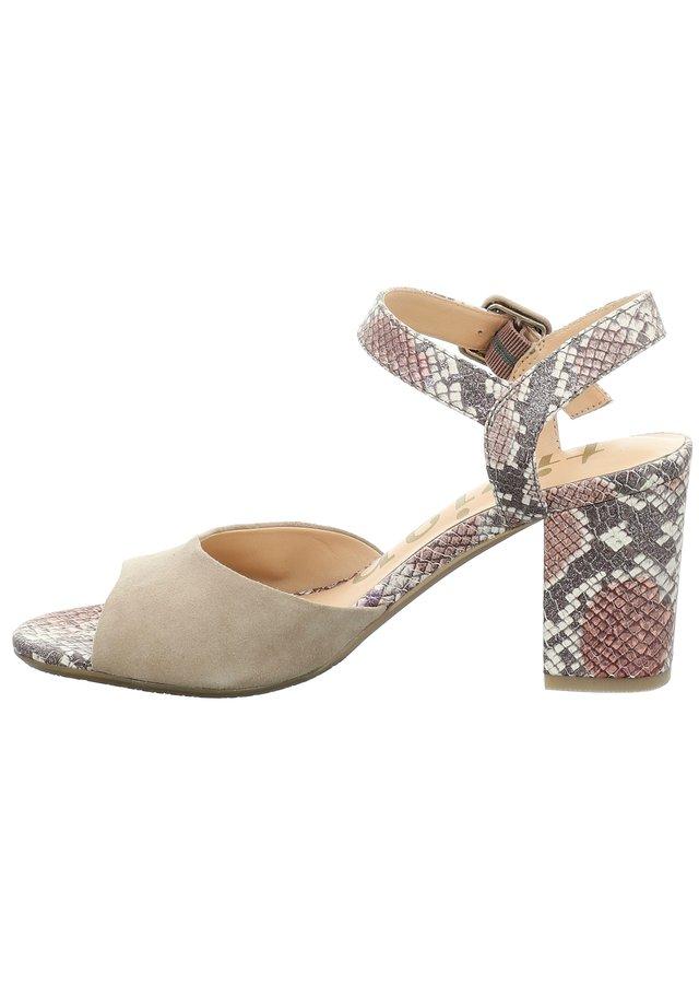 TIZIAN LA SPEZIA 03 - High heeled sandals - hellblau-kombi