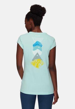 MASSONE - T-shirt con stampa - dark frosty