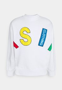 AS IF Clothing - TOWELL LETTERS UNISEX - Sweatshirt - white - 0
