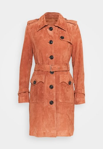JENNI SUEDE TRENCH