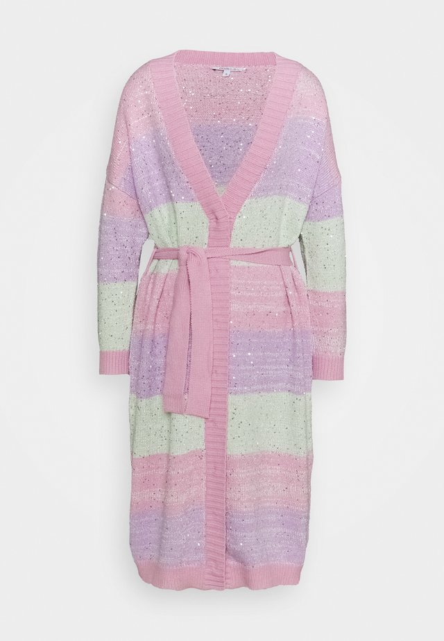 STELLA CARDIGAN - Cardigan - pastel stripe