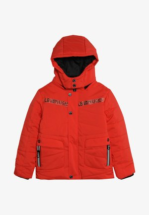 SMALL BOYS JACKET - Winter jacket - neon orange