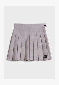 Bershka - A-line skirt - grey - 4