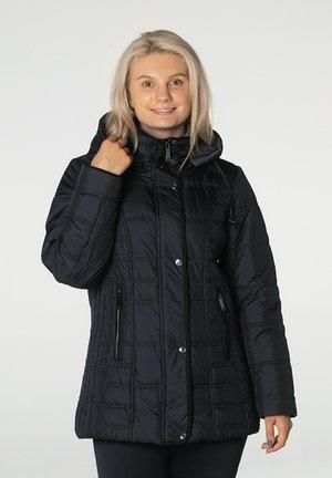 Winterjas - blackslashdark grey
