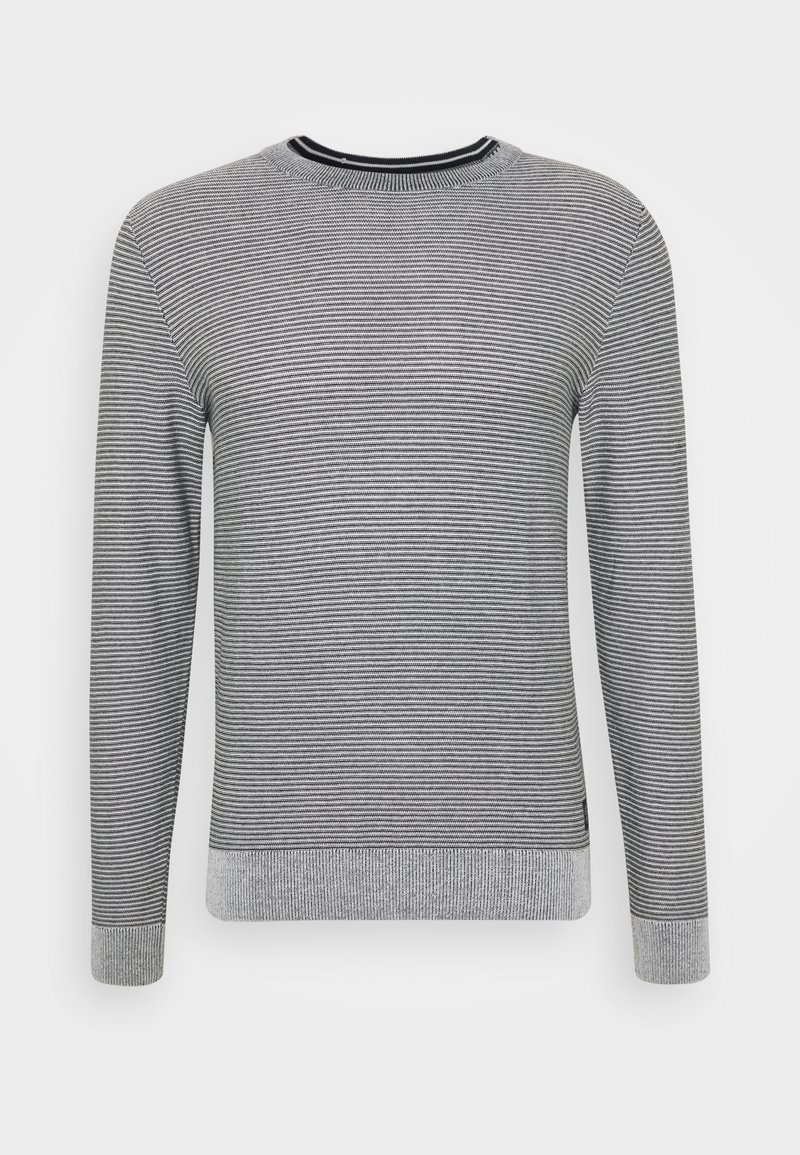 TOM TAILOR - Jumper - light medium grey melange