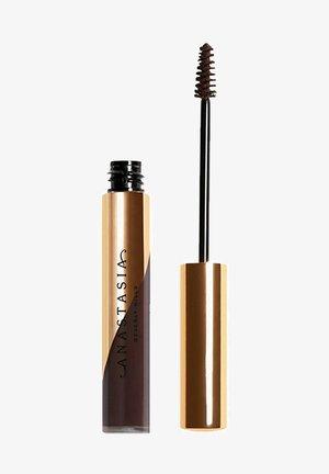 DIPBROW GEL WASSERFEST - Eyebrow gel - ebony