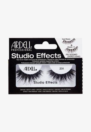 STUDIO EFFECTS 231 - Falske øjenvipper - -