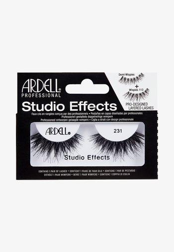 STUDIO EFFECTS 231 - False eyelashes - -