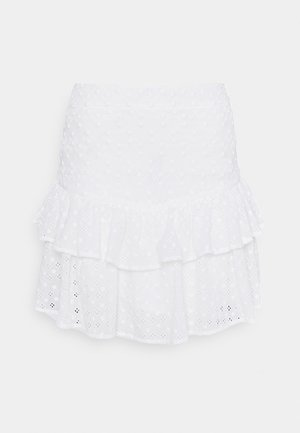 SERENITY SKIRT - Mini skirt - cream white