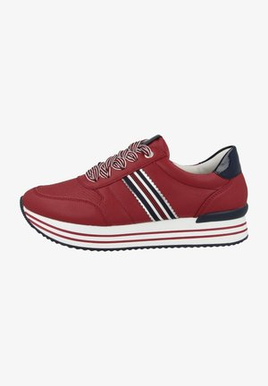 Sneakers laag - scala argento marine rosso