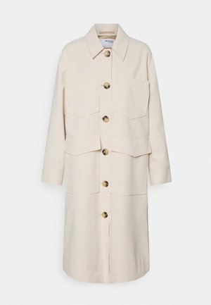 SLFSUSSA LONG - Classic coat - sandshell