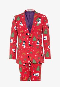 Suit - red
