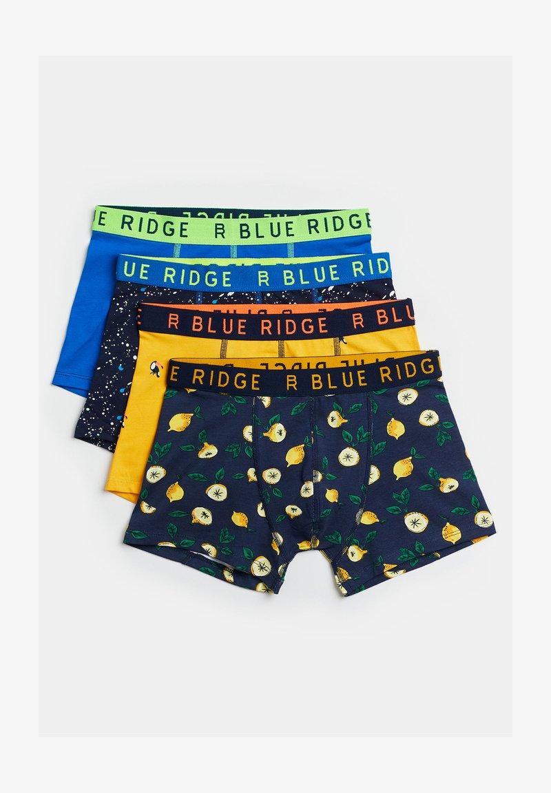 WE Fashion - 4-PACK - Boxershort - dark blue