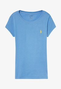 Polo Ralph Lauren - TEE - T-shirt basique - harbor island blue/signal yellow - 2