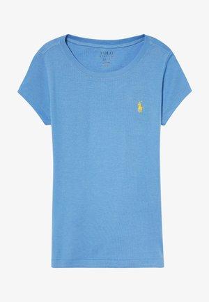 Jednoduché triko - harbor island blue/signal yellow