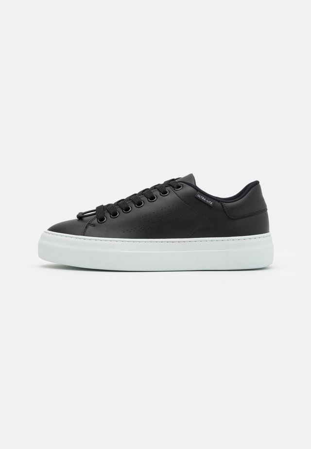 ULTRA LITE TENNIS - Matalavartiset tennarit - black/white