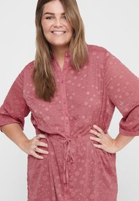 ONLY Carmakoma - ONL BEDRUCKTES CURVY - Shirt dress - withered rose - 3