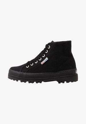 2341 - High-top trainers - full black