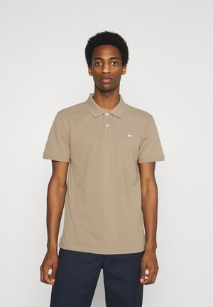 BASIC WITH CONTRAST - Polo shirt - chinchilla