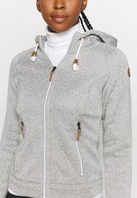 Icepeak - AUBURN - Fleece jacket - grey - 5