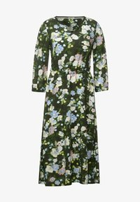 Cecil - BLUMEN PRINT - Day dress - grün - 2