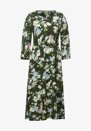 BLUMEN PRINT - Day dress - grün