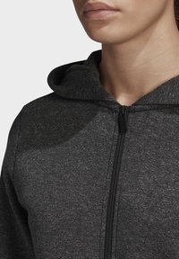 adidas Performance - MUST HAVES VERSATILITY HOODIE - Collegetakki - black - 4