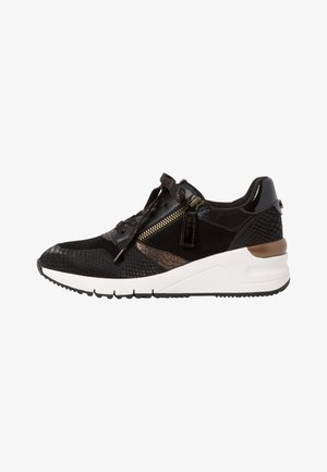 Sneakers laag - black/bronce
