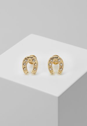 FEELING LUCKY STUD EARRINGS - Oorbellen - antique gold-coloured