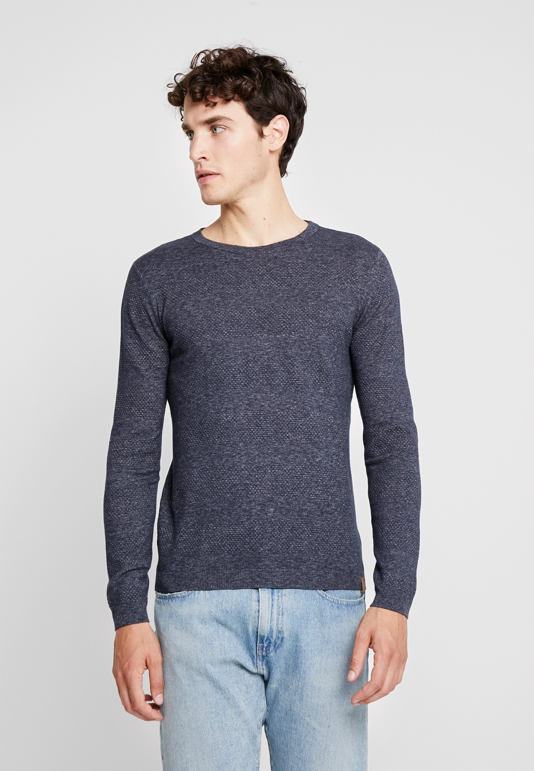 Homme STRUCTURED STRIPED - Pullover