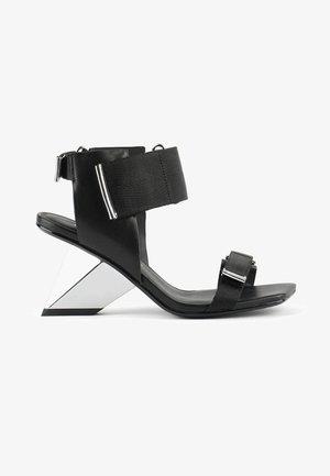 ROCKIT RUN - High heeled sandals - black